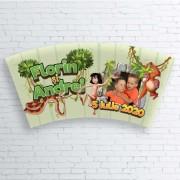 Etichete pentru pahare - Cartea Junglei, Candy Bar
