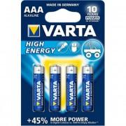 Elem, AAA mikro, 4 db, VARTA \High Energy\ [4 db]
