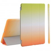 iPad 9.7 2017/2018 Detachable 2-in-1 Smart Case - Green / Orange