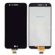 Display LCD Touch LG K10 2017 M250N preto