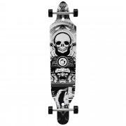 Лонгборд [pro.tec]® Cruising Board skateboard 104 x 23 x 9,5 cm Черен/Бял