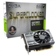 EVGA GeForce GTX 1050 Ti SuperClocked Gaming (4GB GDDR5/PCI Express 3.0/135