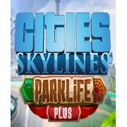 CITIES: SKYLINES - PARKLIFE PLUS - STEAM - PC / MAC - WORLDWIDE