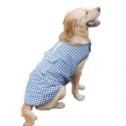 Fansport Dog Jacket Windproof Cotton Waterproof Dog Vest Winter Warm Coat Pet Clothes for Winter Autumn
