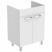 Baza lavoar pe pardoseala Ideal Standard Tempo60 cm,alb lucios -E3239WG