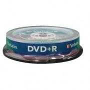 VERBATIM - DVD+R 4,7 Go 16x Matt Silver - Spindle de 10 (data) ( 43498 )
