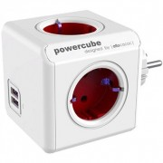 Allocacoc PowerCube Original USB White/Red 1202RD/DEOUPC