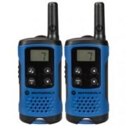 Walkie-Talkie Motorola TLKR T41, PMR446, 8 канала, до 4 km, LCD, син