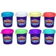Massinha Play-Doh - Massinhas Plus com 8 Cores - Hasbro - Unissex-Incolor