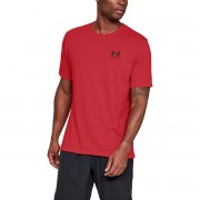 Under Armour Majica Sportstyle Left Chest SS Red S