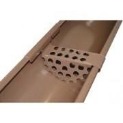 Parafrunzar Metigla pentru sistem pluvial metalic maro