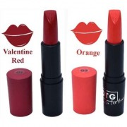 OTG Smooth Glide Creme Matt Lipstick - Valentine Red/Orange