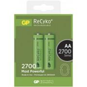 Acumulator AA (R6) NiMH Recyko+ 2700mAh 2 buc/blister GP