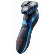 Aparat de ras Remington HyperFlex Aqua Pro XR1470, Acumulator Litiu, Autonomie 60 minute, Incarcare rapida, 100% rezistent la apa, Functie Turbo (Negru/Albastru)