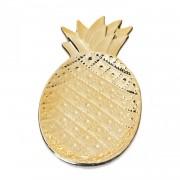 Dish Small Golden Pineapple - Decoratie