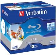VERBATIM 43713 - BD-R, 25GB, bedruckbar, 10er Pack