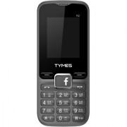 Tymes Y2 (Dual Sim 1.8 Inch Display 1000 Mah Battery Grey-Black)