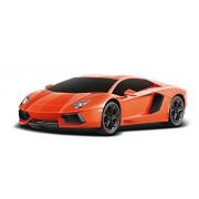 Toyhouse Officially Licensed Radio Remote Control Rastar Lamborghini Aventador LP 700-4 RC 1:24 Scale Model Car, Orange
