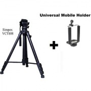 Simpex VCT 888 RM hevy duty video and photo professional tripod With mobile Holder