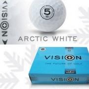 Vision Arctic White Golfball