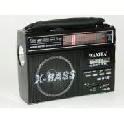 Radio Portabil X-Bass XB-161URT, MP3 Player, lanterna cu alimentare la 220V