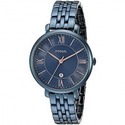 Fossil Jacqueline Analog Blue Dial Womens Watch-ES4094
