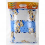 "Бебешки спален комплект ""Blue Bear"" - 100% памук"