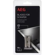 AEG Břity na škrabku sklokeramické desky 10ks