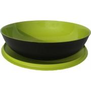 Allegra tál 3,5 L zöld/fekete Tupperware
