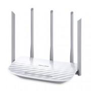 Рутер TP-Link Archer C60, 1350Mbps, 2.4GHz(450 Mbps)/5GHz(867 Mbps), Wireless AC, 4x LAN 100, 1x WAN 100, 5x външни антени