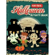 Halloween Activity Book for Kids: Word Search, Connect the Dots, Mazes, Color by Number, and More, Paperback/Dylanna Press