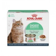 Royal Canin Digest Sensitive Thin Slices in Gravy Canned Cat Food, 3-oz, pack of 6