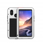 LOVE MEI Shockproof Dropproof Dustproof Cover for Xiaomi Mi Max 3 - White