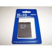 Acumulator Nokia BL-4S Blister pentru telefon Nokia 2680s, 3600s, 3710f, 3711, 6208c, 7020, 7100s, 7610 Supernova, X3-02 Touch and Type