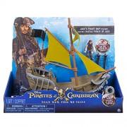 "Pirates of The Caribbean Carribean 6036006"" Jack Sparrow Pirate Ship Figure"