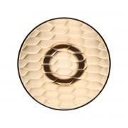 Kartell - Jellies Coat Hanger Garderobenhaken, Ø 19 cm, bernstein