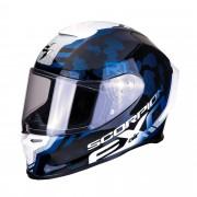Scorpion Casco Moto Integrale Exo-R1 Air Ogi Black White