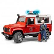 Bruder Fire Brigade Land Rover Defender 1:16 02596