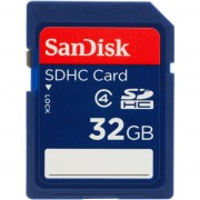 Memoria Flash SanDisk SDSDB-032G-B35, SDHC Clase 4, 32GB
