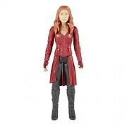 Marvel Infinity War Titan Hero Series - Scarlet Witch with Titan Hero Power FX Port (Multi Color)