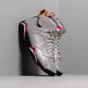 Air Jordan 7 Retro Sp Reflect Silver/ Bronze-Cardinal Red-Black