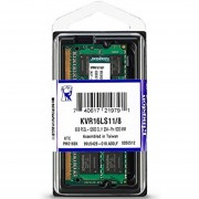 Memoria Ram DDR3L 8GB 1600Mhz Laptop 1.35V KINGSTON KVR16LS11/8
