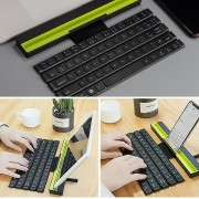 R4 64 Teclas Plegable Teclado InaláMbrico Para Bluetooth Tableta