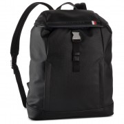 Rucsac TOMMY HILFIGER - Coated Canvas Backpack AM0AM04895 002