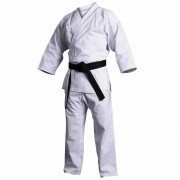 Kimono karate alb EvoGym ART, 165cm