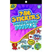 Eureka Stickerbook - Motivational Doodles Learning Playground Sticker Book