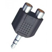 3.5 stereo jack-2RCA alj AC17