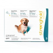 Stronghold For Dogs 20.1-40kg (44-88lbs) Teal, 3 Pack