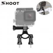 SHOOT Bike Bicycle Handlebar Seatpost Clamp Mount For Gopro Hero 6 5 4 3 Yi Lite 4K+ SJCAM SJ4000 Eken H9 Camera Cycling Clip