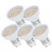 [lux.pro]® 5 x LED 3 Watt GU10 LED žarulja